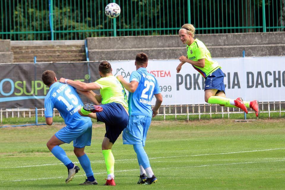 Sobota, 24 lipca 2021 r. Piłkarski mecz towarzyski: Warta Gorzów - Błękitni Stargard 1:2 (1:1)