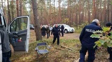 Poszukiwania zaginionego grzybiarza. Zdjęcie ilustracyjne
