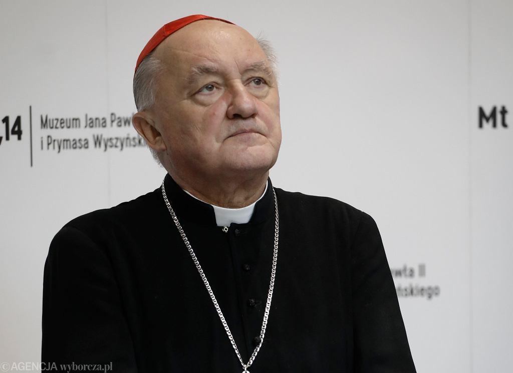 Metropolita warszawski kard. Kazimierz Nycz, wielki kanclerz Akademii Katolickiej