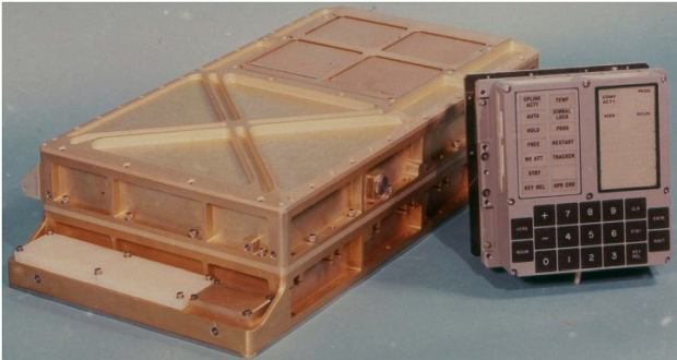 AGC (Apollo Guidance Computer). Komputer nawigacyjny z misji Apollo 11