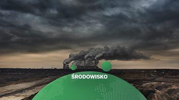 Elektrownia Bełchatow, zasilana węglem brunatnym