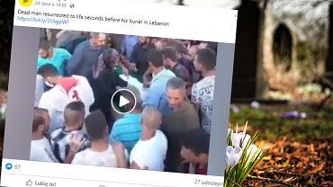 Mężczyzna w Libanie obudził się na własnym pogrzebie