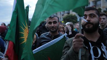 Demonstracja ' Stop Rzezi Kurdw '