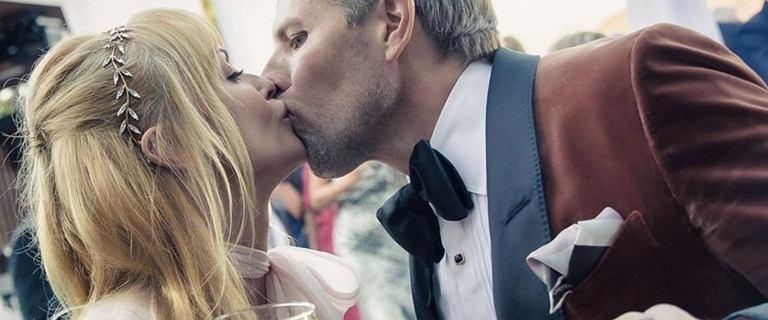 Izabella Scorupco pokazała zdjęcia ze ślubu. Zwróciła się do bliskich