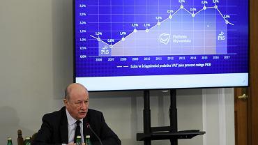 Jacek Rostowski przed komisją śledczą ds. VAT