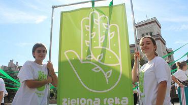 Inauguracja programu 'Zielona Ręka' w Bielsku-Białej