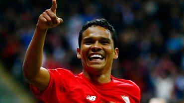 Carlos Bacca - strzelec zwycięskiego gola dla Sevilli
