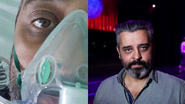 Konrad Imiela trafił do szpitala z zakażeniem koronawirusem