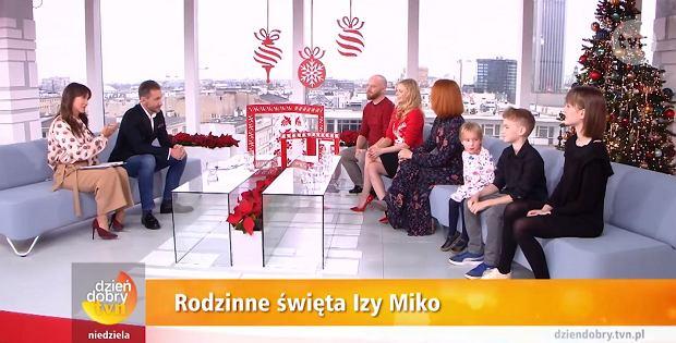 Kadr z programu 'Dzień dobry TVN'