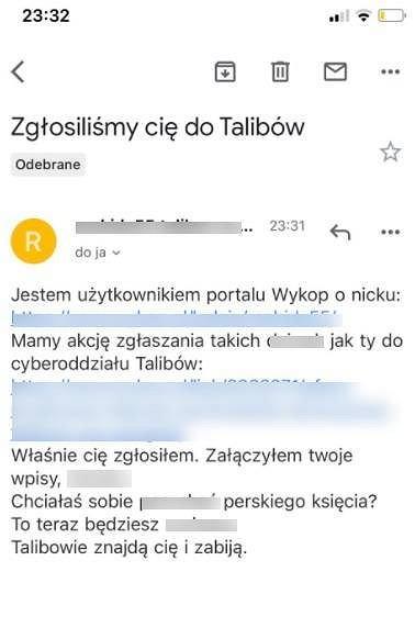 Mail do Jagody Grondeckiej