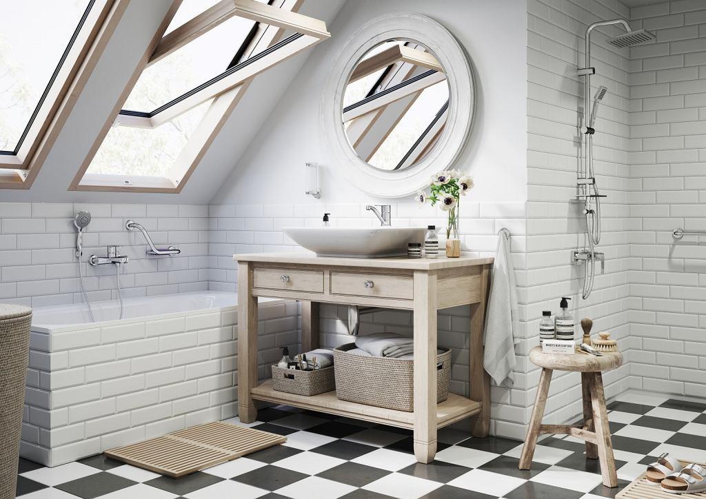 Elegancka łazienka - aranżacja Ferro