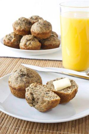 Muffiny z kaszą jaglaną