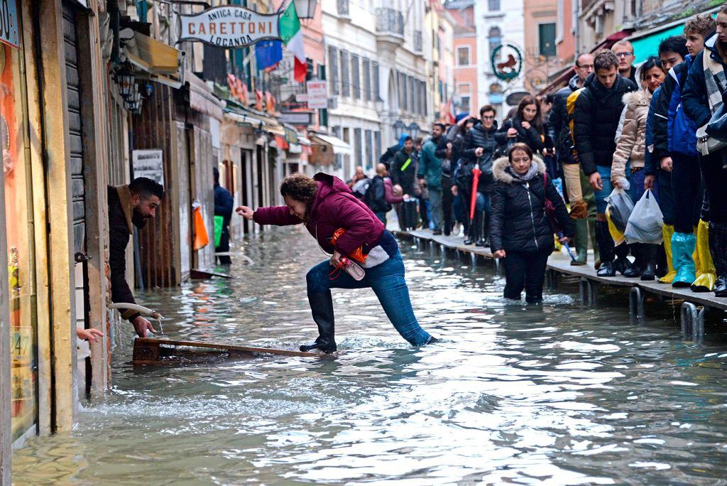 Powódź w Wenecji, 15 listopada 2019
