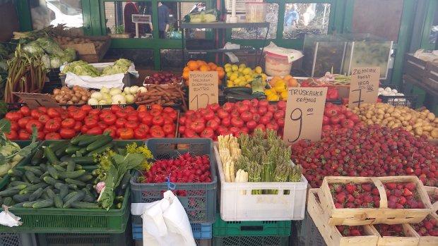 Warzywa, stoisko 57