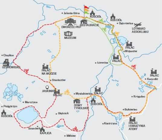 Mapka Jelenia Góra