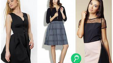 Spódnice i sukienki z widocznym zamkiem