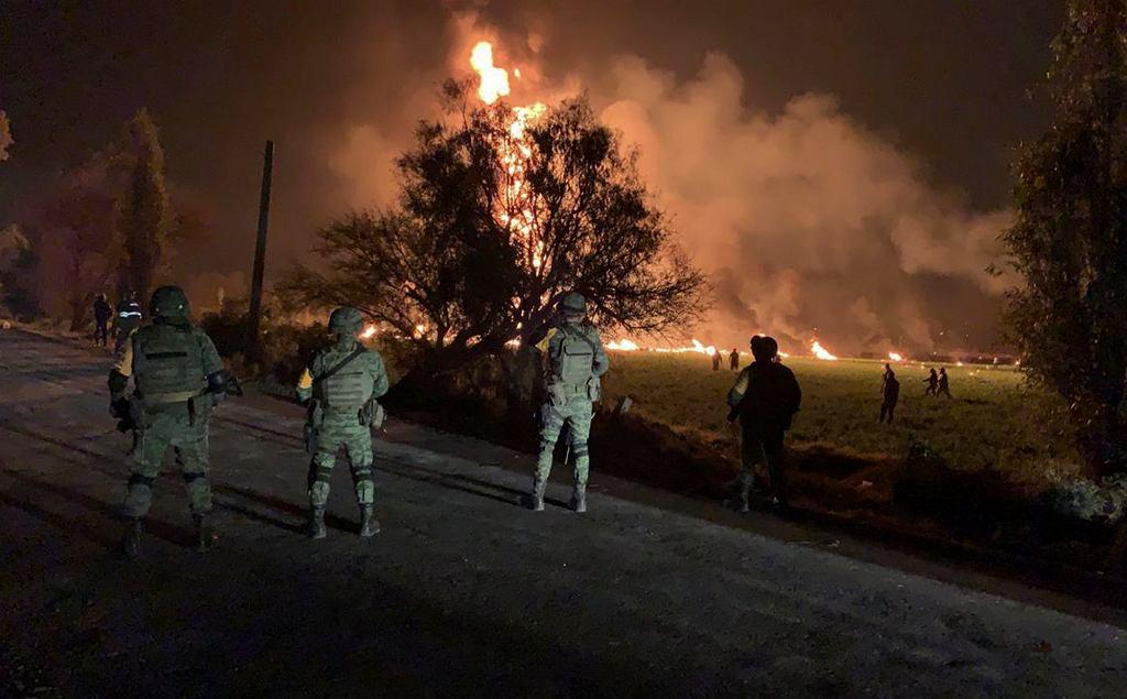 Pożar w Tlahuelilpan