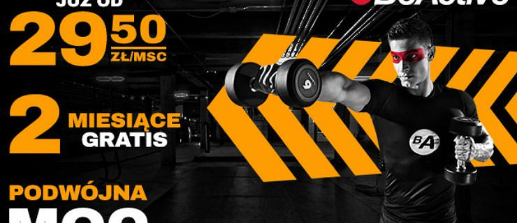 BeActive - jeden karnet do ponad 200 klubów. Zacznij swoją przygodę z siłownią już dziś!