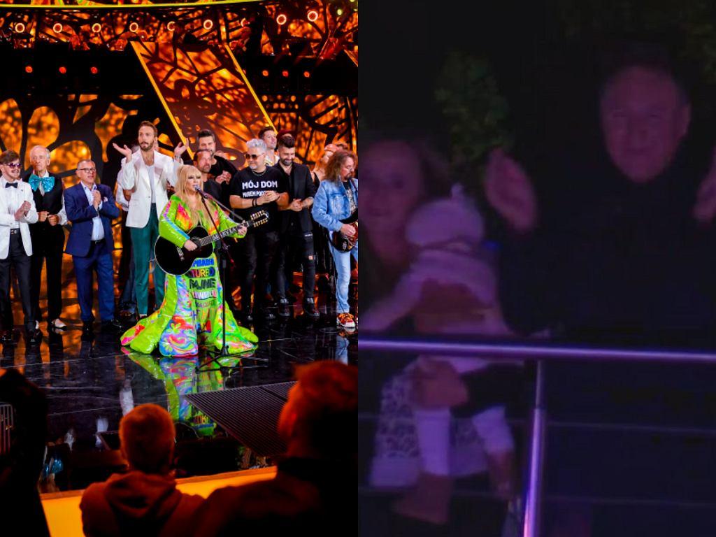 Gwiazdy na festiwalu w Opolu i Jacek Kurski z żoną