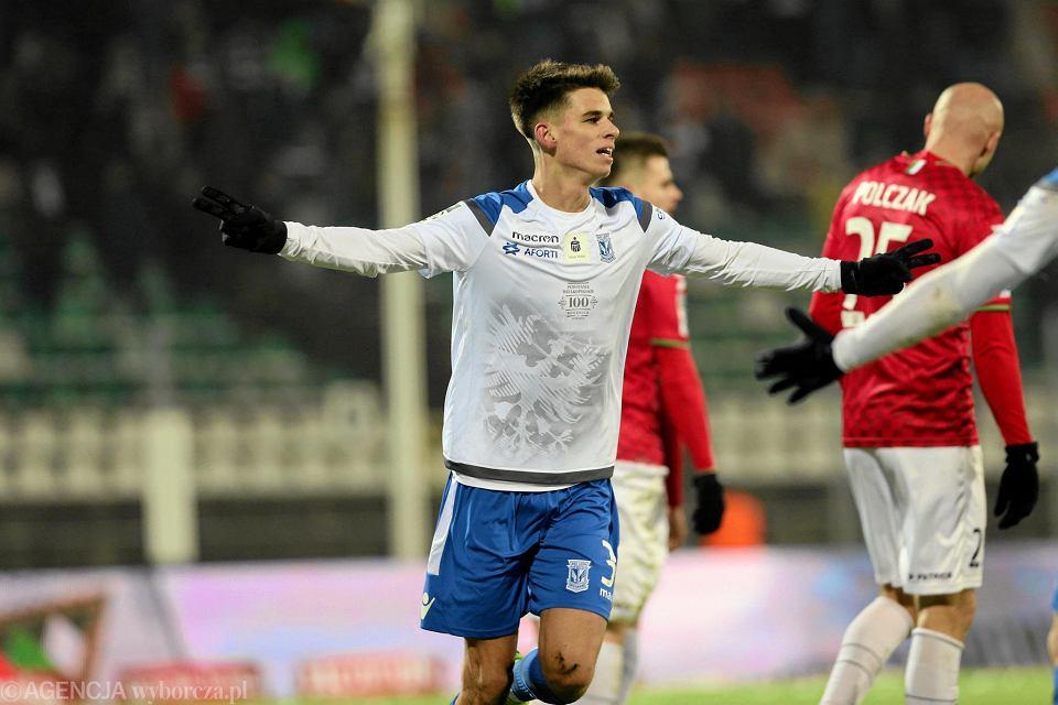 Filip Marchwiński strzelił gola w debiucie w ekstraklasie