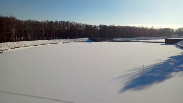 Zdjęcie numer 1 w galerii - Jezioro Goczałkowickie zamarza.