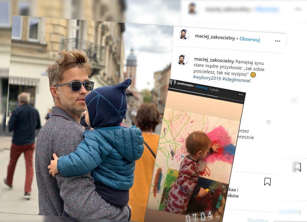 Maciej Zakościelny jest ojcem dwóch chłopców. Wychowuje ich bezstresowo