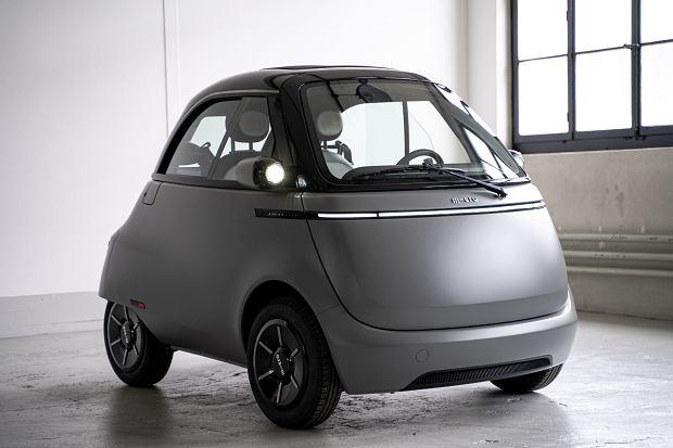 BMW Isetta zdefiniowany na nowo. Microlino 2.0 w formie produkcyjnej, czyli bazowanie na nostalgii