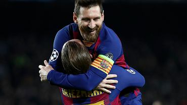 Kapitan Barcelony Leo Messi zaprowadził drużynę do ćwierćfinału Ligi Mistrzów