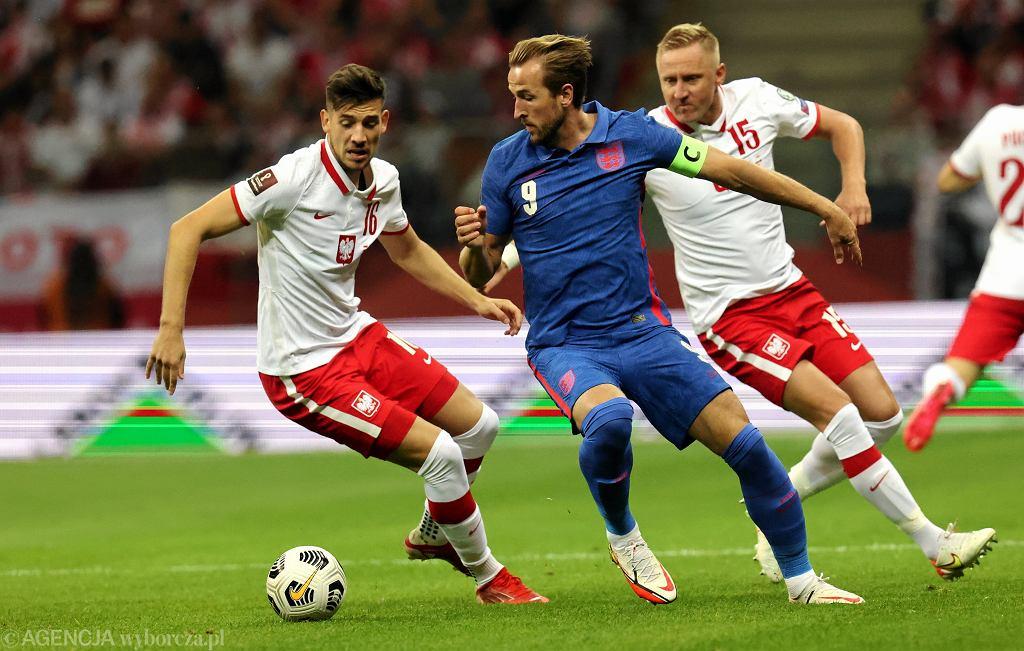 Polska - Anglia, Jakub Moder i Harry Kane