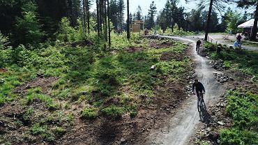 Górskie ścieżki rowerowe Enduro Trails w Bielsku-Białej