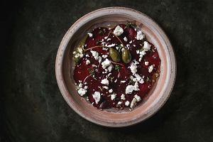 Carpaccio z buraków - przepis na wegetariańską wersję popularnego włoskiego przysmaku