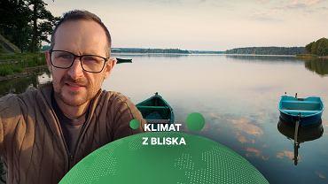 Jeziora a zmiany klimatu. Na zdjęciu dr hab. Michał Woszczyk, UAM