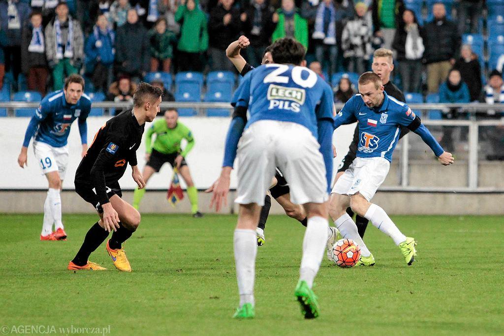 Lech Poznań - Zagłębie Lubin 1:0. Szymon Pawłowski
