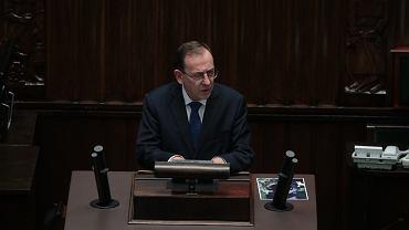 Minister Spraw Wewnętrznych i Administracji Mariusz Kamiński