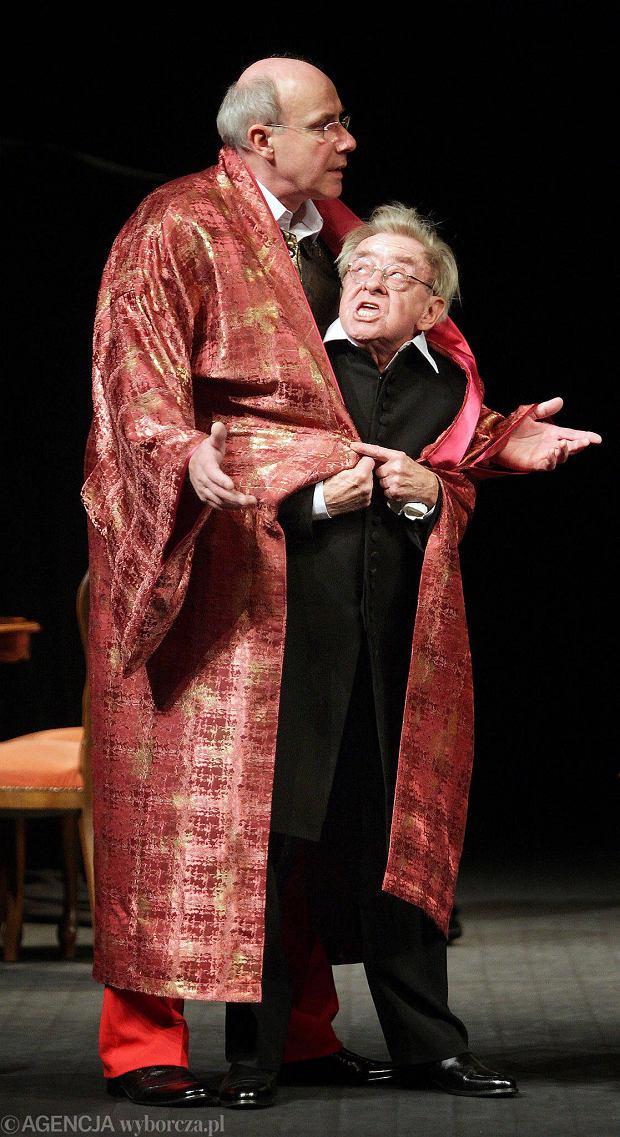 Zdjęcie numer 8 w galerii - Przypominamy role Piotra Machalicy w Teatrze im. Mickiewicza w Częstochowie [ZDJĘCIA]