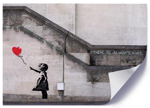 """Plakaty Banksy'ego. Mamy nie tylko """"Dziewczynkę z balonikiem"""""""