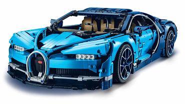 Bugatti Chiron z klocków LEGO
