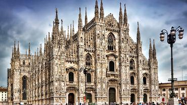 Katedra w Mediolanie, Mediolan Włochy / Shutterstock