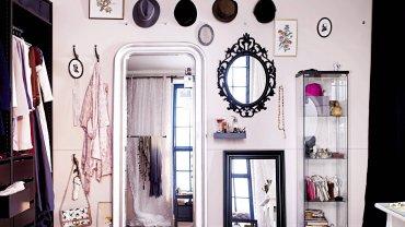 Namiastkę dawnego buduaru można stworzyć także w XXI wieku. fot. IKEA