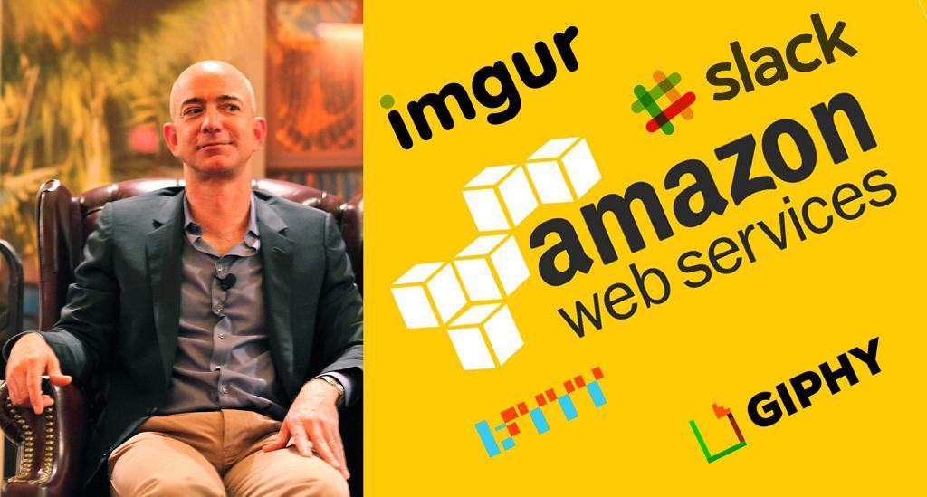 Awaria Amazon Cloud Service spowodowała problemy z działaniem wielu popularnych serwisów