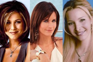 Jennifer Aniston, Lisa Kudrow, Courteney Cox