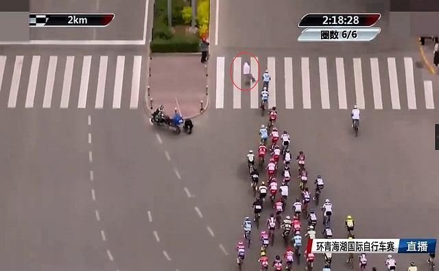 Wypadek podczas wyścigu kolarskiego w Chinach