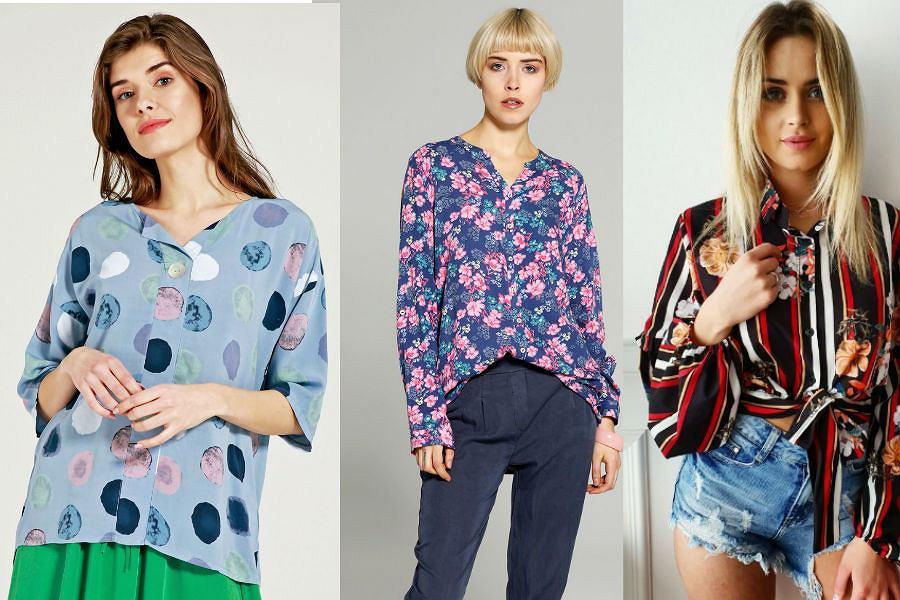 Koszule we wzory ożywią każdą wakacyjną stylizację