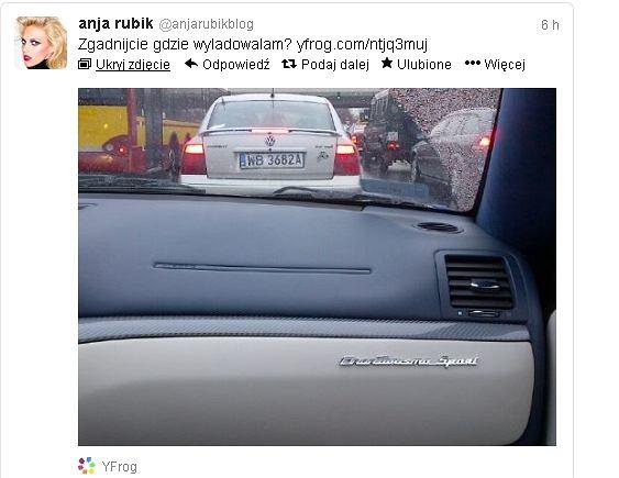Anja Rubik Twitter