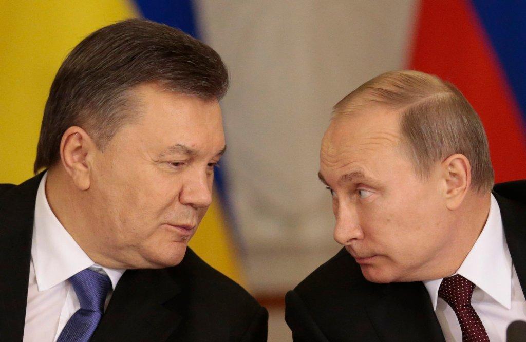 Wiktor Janukowycz i Władimir Putin - 17 grudnia 2013 roku