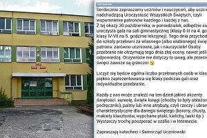 Tak polska szkoła walczy z Halloween: tylko przebrani za świętego nie ryzykują jedynką w dzienniku