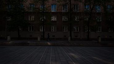 Kraków. Aleja Róż, Nowa Huta