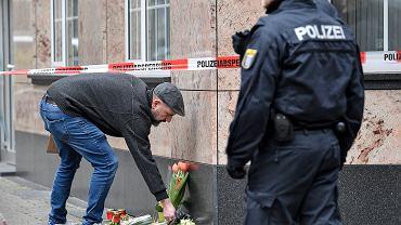 Miejsce strzelaniny w Hanau