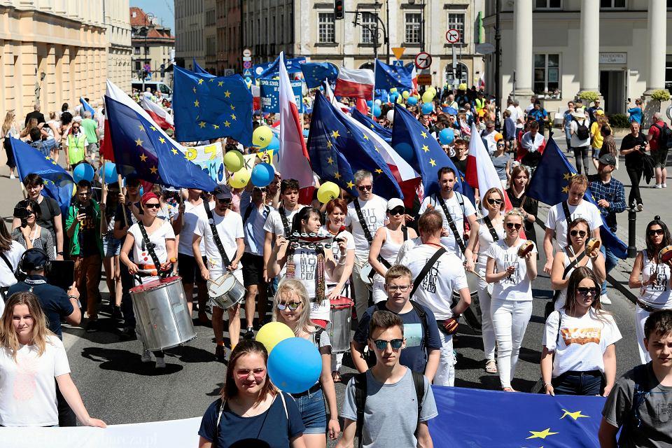 Parada Schumana 2018 w Warszawie