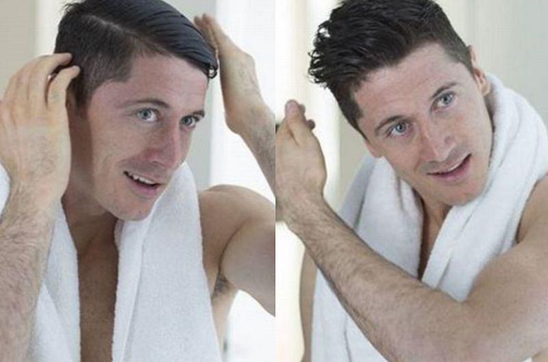 Robert Lewandowski zdradził, jak dba o włosy przed każdym meczem